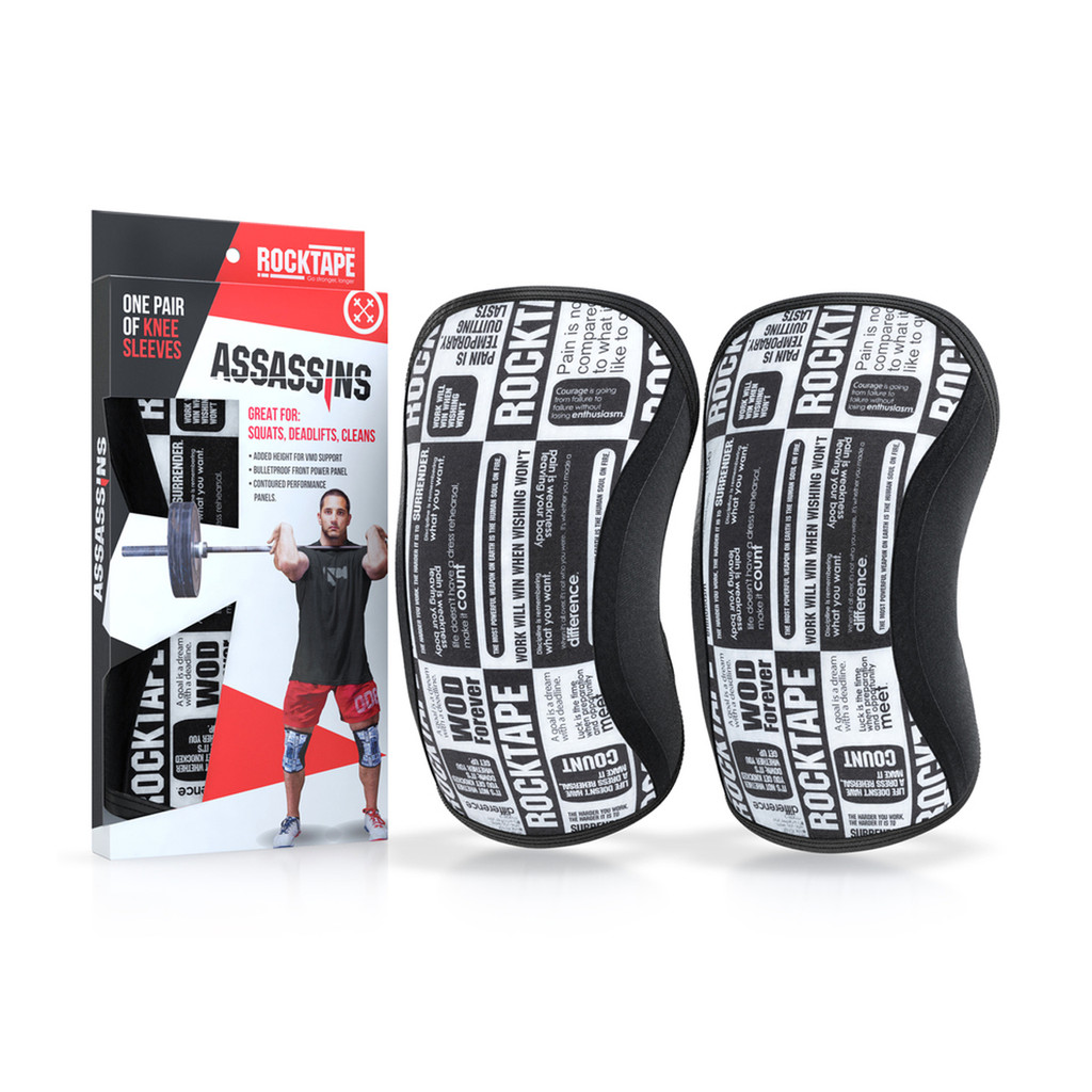 Assassins Knee Sleeves - Manifesto