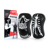 RockTape Assassins Knee Sleeves - Skull