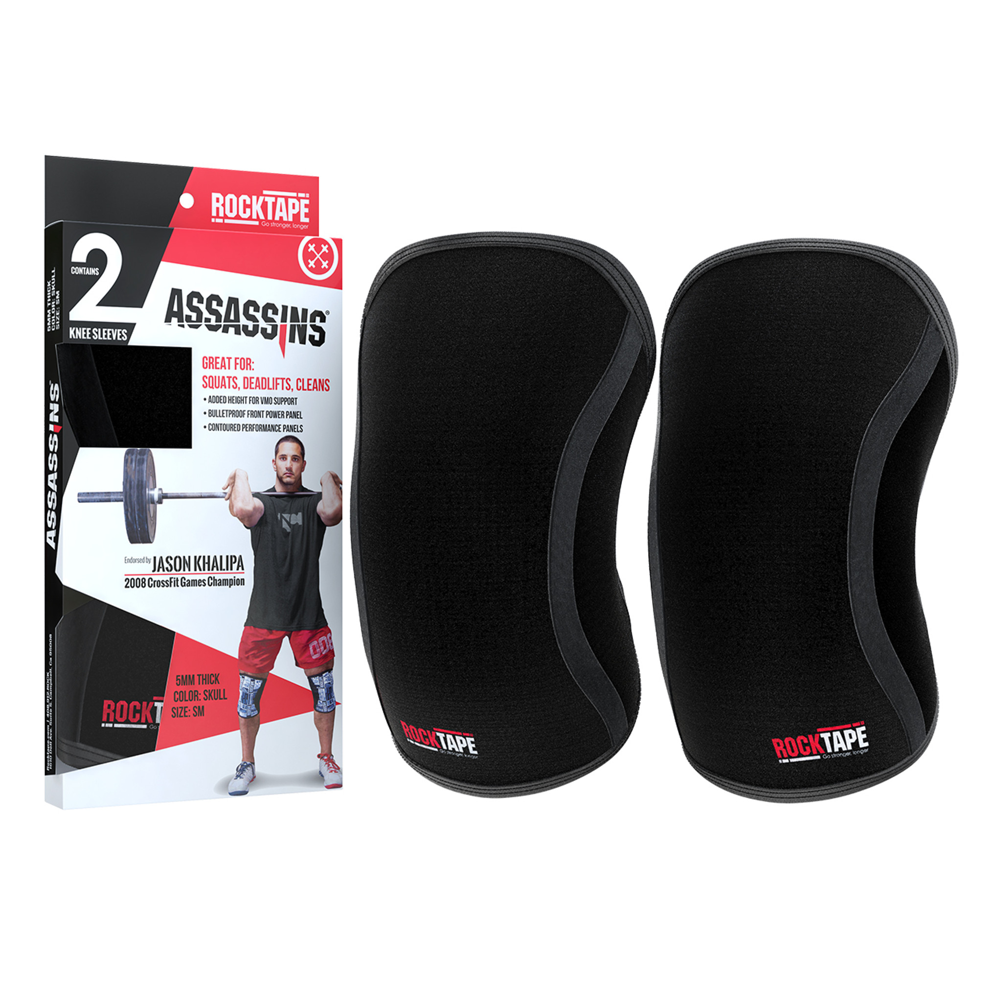 7MM Knee Sleeves Support Power Weight Lifting Squats Patella Brace Protector