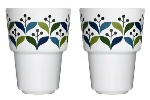Retro mug 2-pack