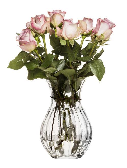 Pärla vase high, clear