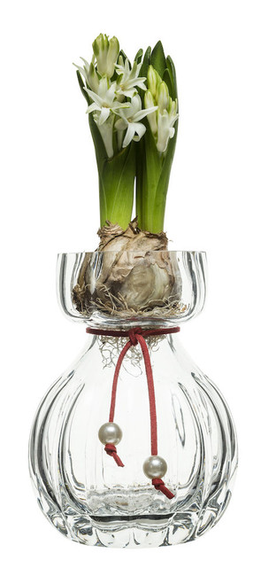 Pärla vase small, clear