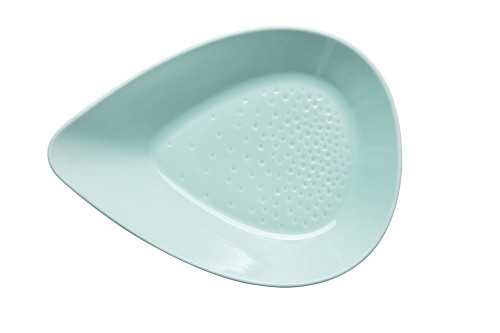 Piccadilly plate ovensafe, turquoise