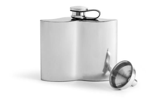 Club pocket flask, Mustasch