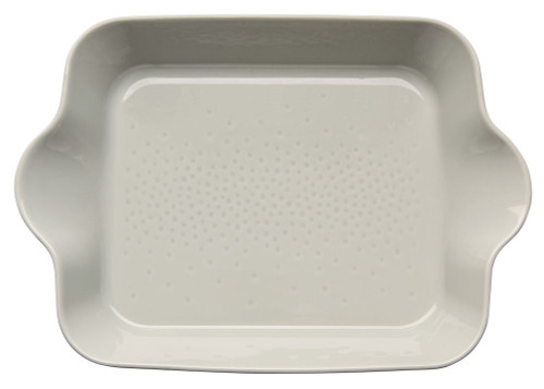Piccadilly square ovenproof dish, sand