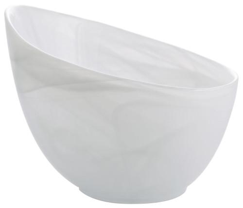 Candy bowl, white
