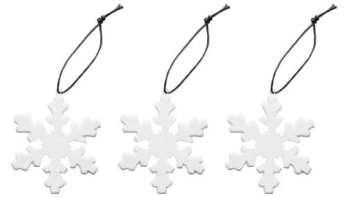 Winter decoration snowflake 3-pack