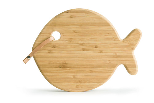 Fish serving board