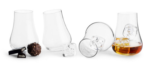 Club After dinner glass rounded base 4-pack