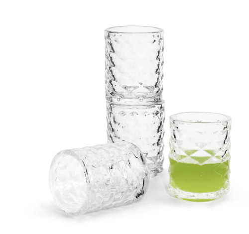 Club shot glass, 4-pack