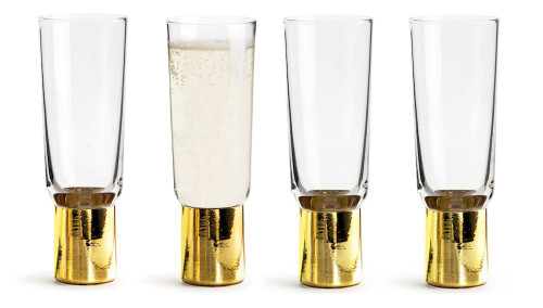 Club champagne glass 4-pack