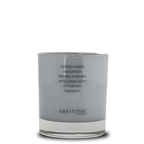 Scented Candle Daggmossa Grey