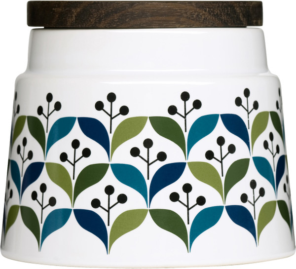 Retro storage jar, small