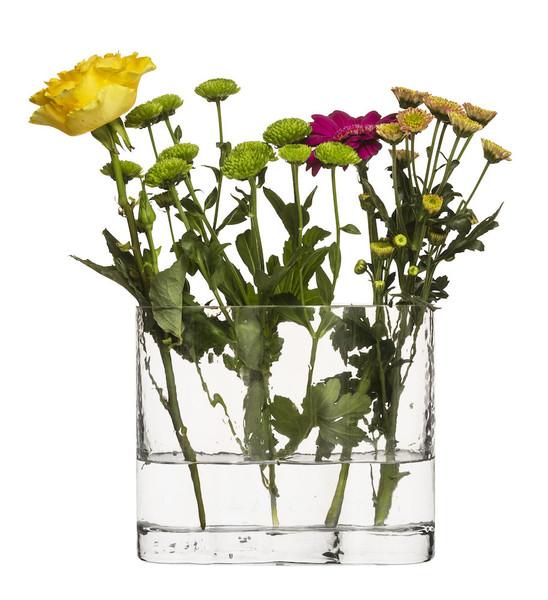 Siluett vase, clear