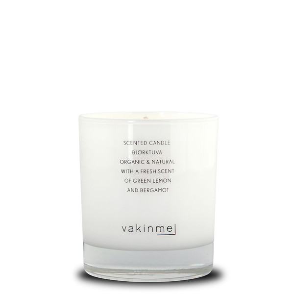 Scented Candle Björktuva White