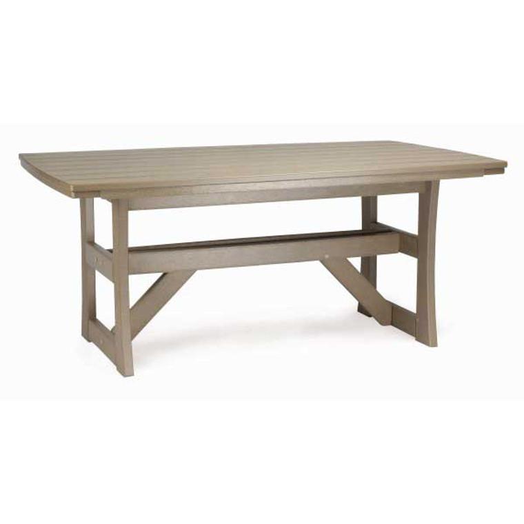 "Breezesta Piedmont 42"" x 70"" Dining Table"