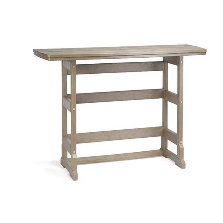 "Breezesta 21"" x 60"" Bar Height Terrace Table"