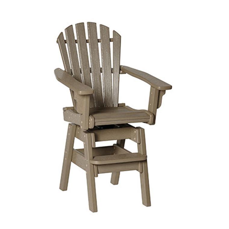 Breezesta Coastal Swivel Bar Chair