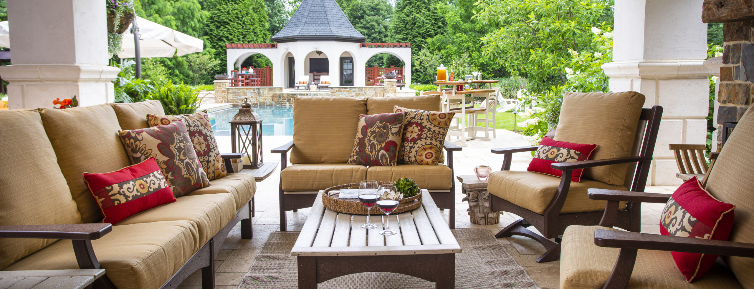 Breezesta Piedmont Love Seat Sofa Club Chair