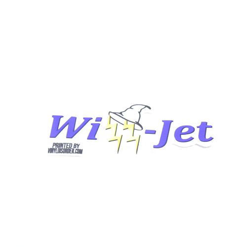 Wizz-Jet Sticker