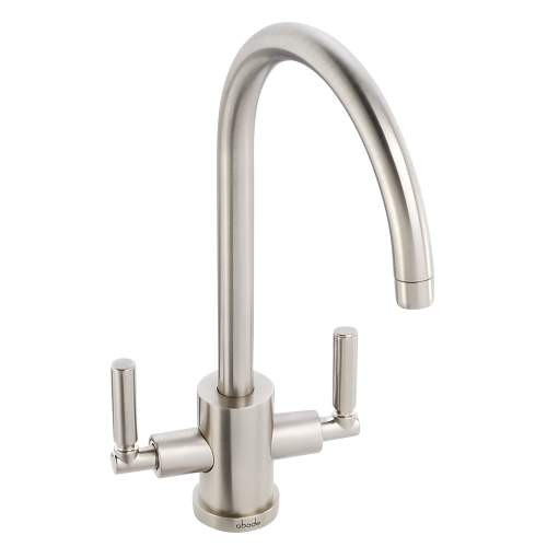 Abode Atlas Three Way Tap in Brushed Nickel Finish