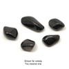 Black Obsidian Tumblestone (from Mexico)