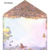 Aquarius Greeting Card (January 20 - February 18) by Josephine Wall