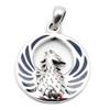 Phoenix with Enamel Pendant (Sterling Silver)