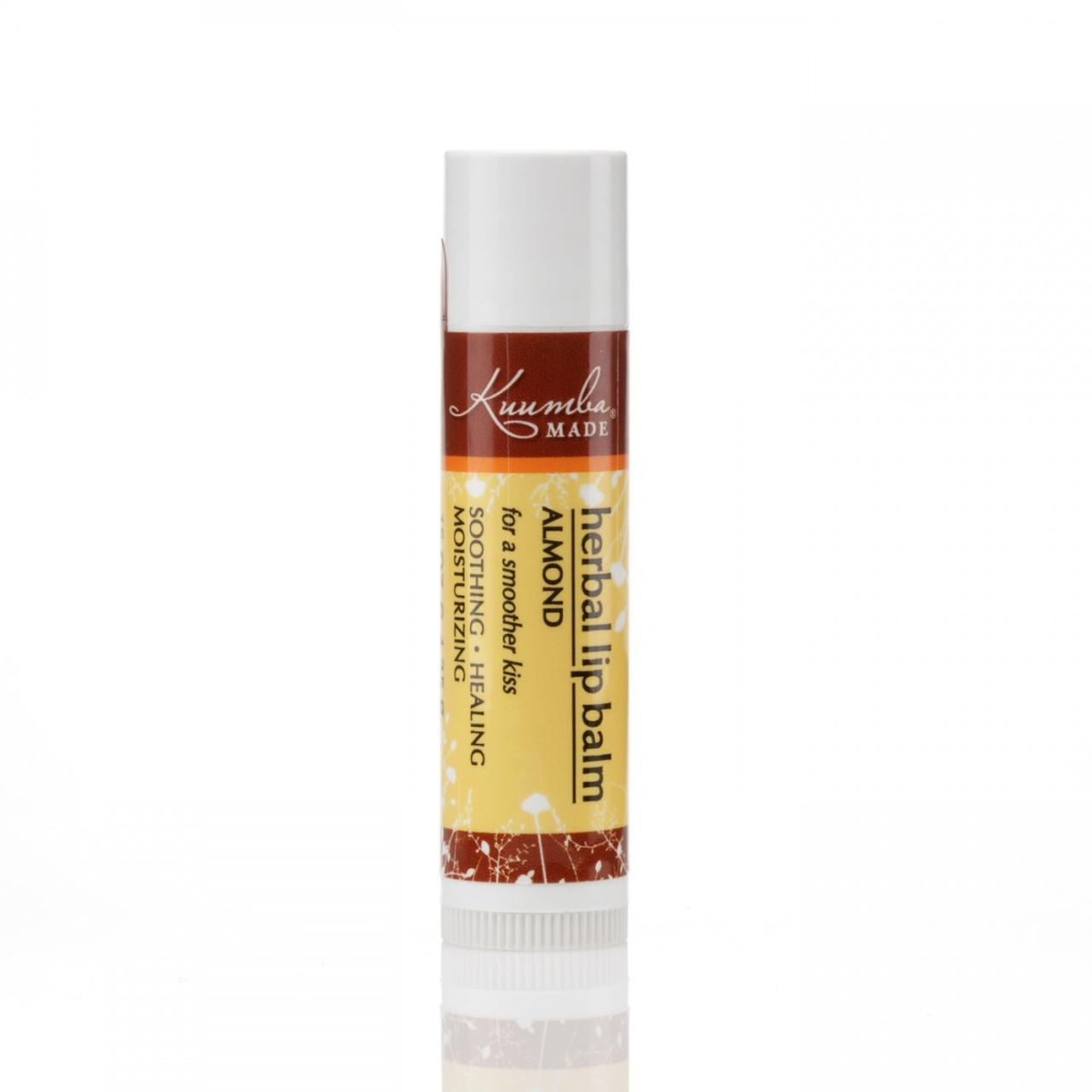 Kuumba Made Almond Flavoured Organic Lip Balm
