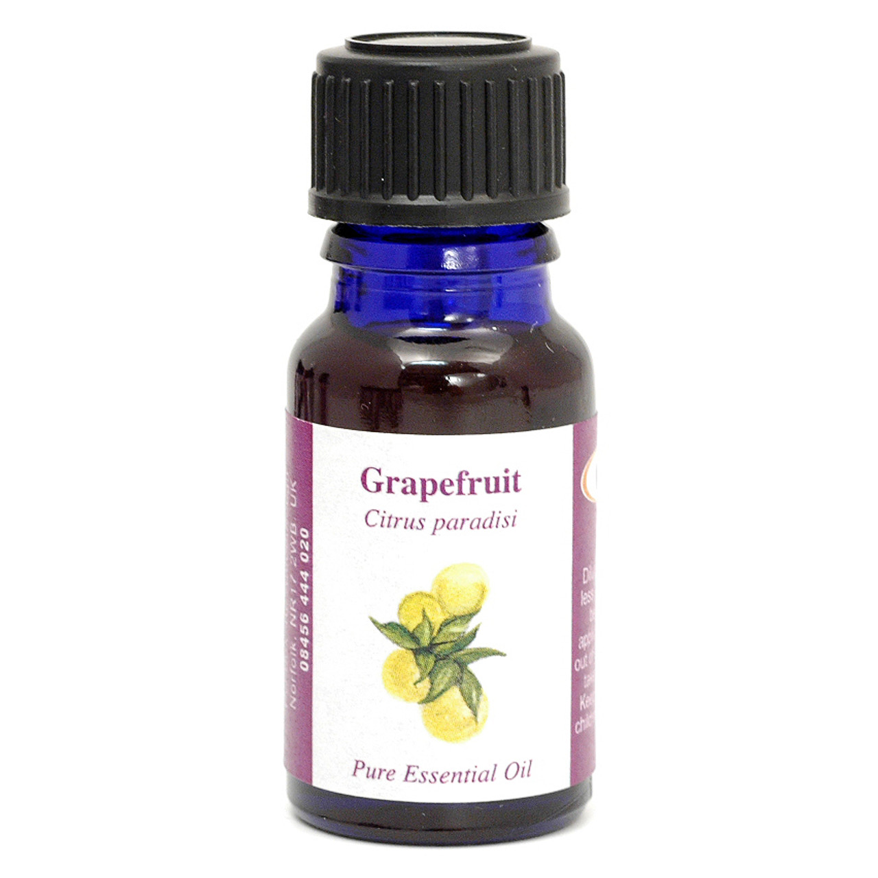 Grapefruit Essential Oil (California) - 10 ml (100% Pure Concentrated)