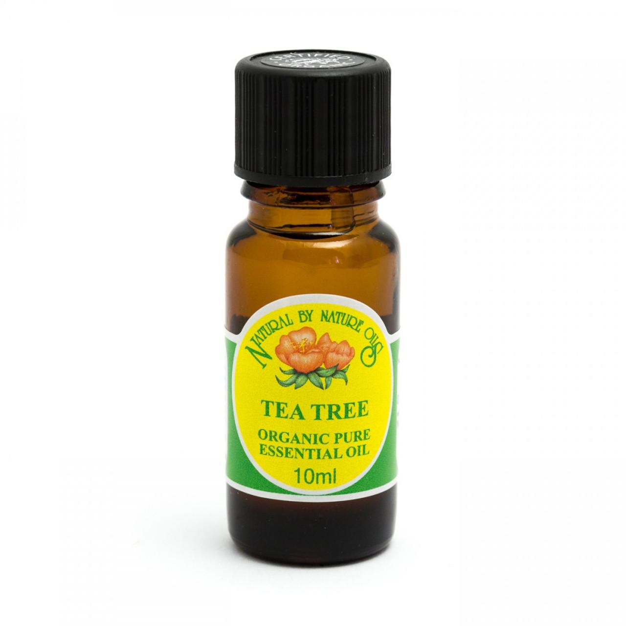 Tea Tree Organic Pure Essential Oil (Australia) 10ml