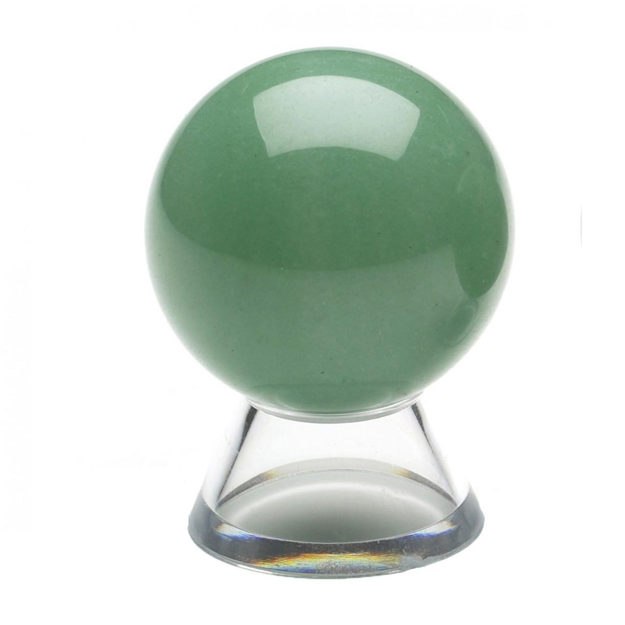 Green Aventurine Crystal Sphere (40mm)