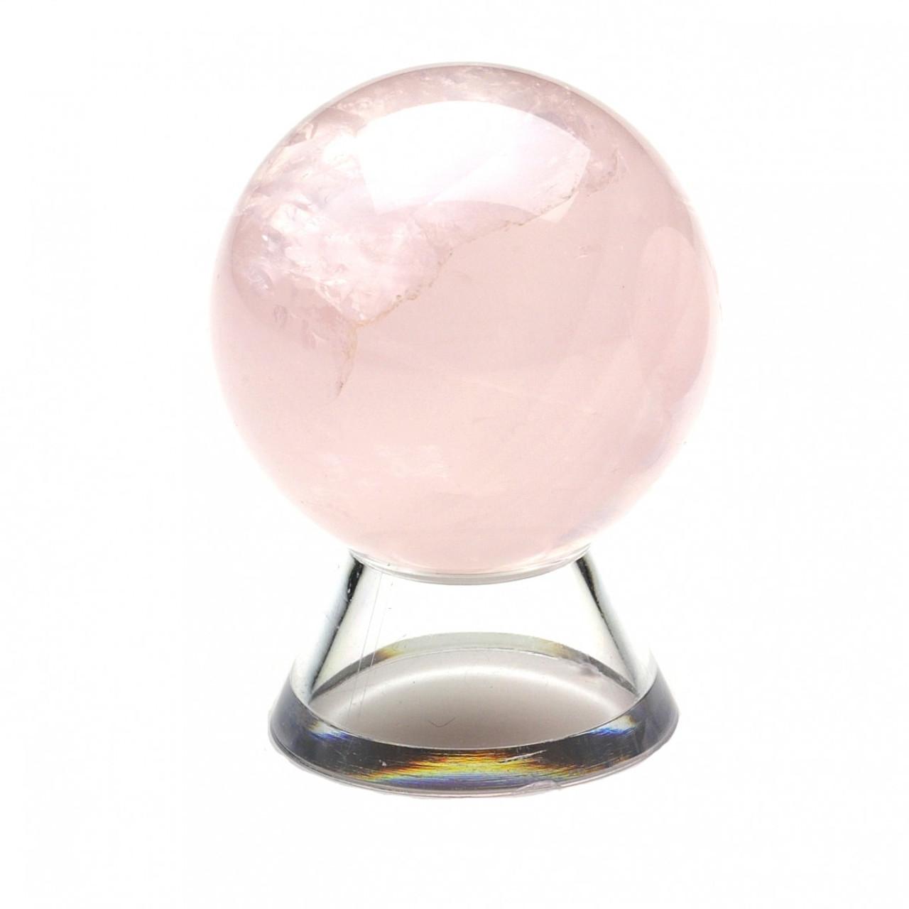 Rose Quartz Crystal Sphere