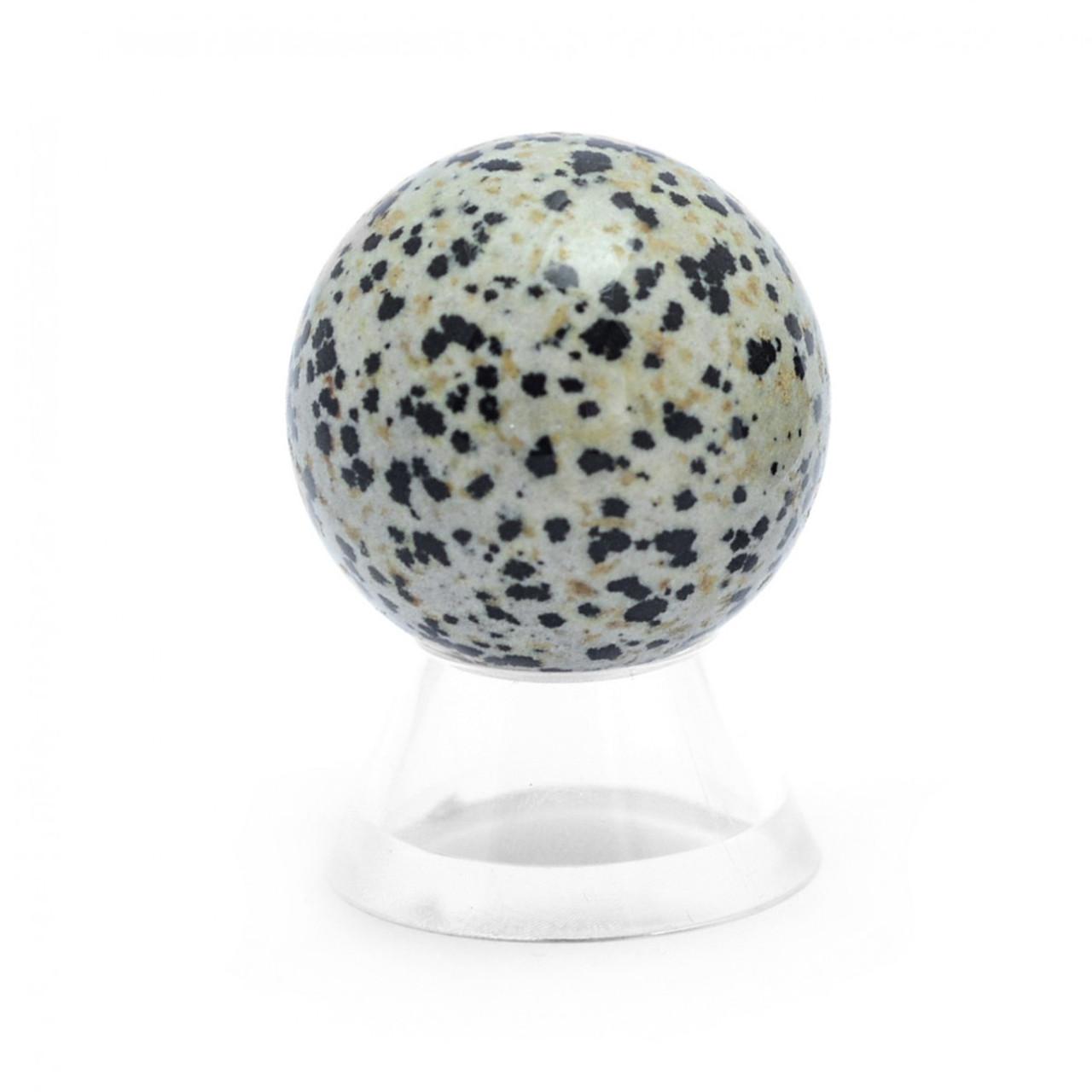 Dalmation Jasper Crystal Sphere (35mm)