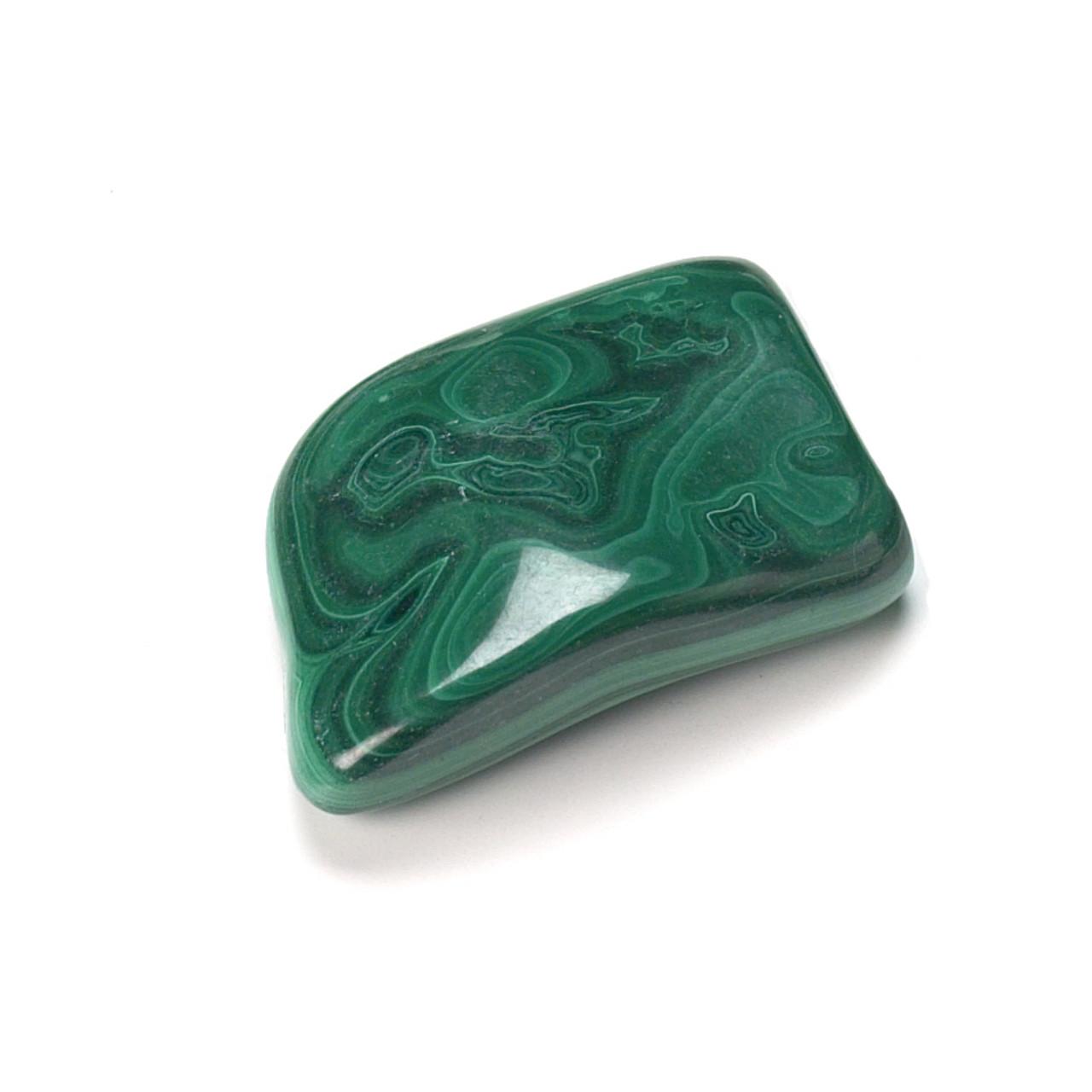 Malachite Tumblestone (from Zaire)
