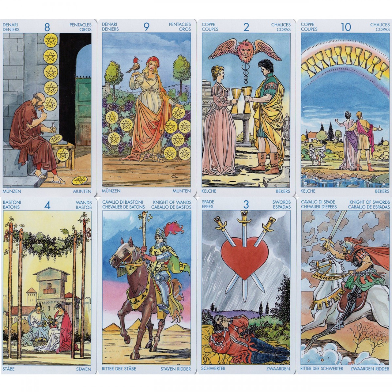 Universal Tarot Cards Lo Scarabeo Holisticshop Co Uk