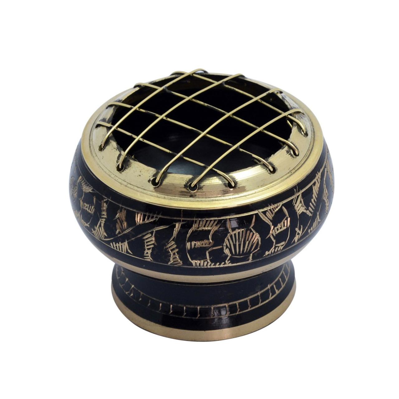 Small Black Brass Bowl