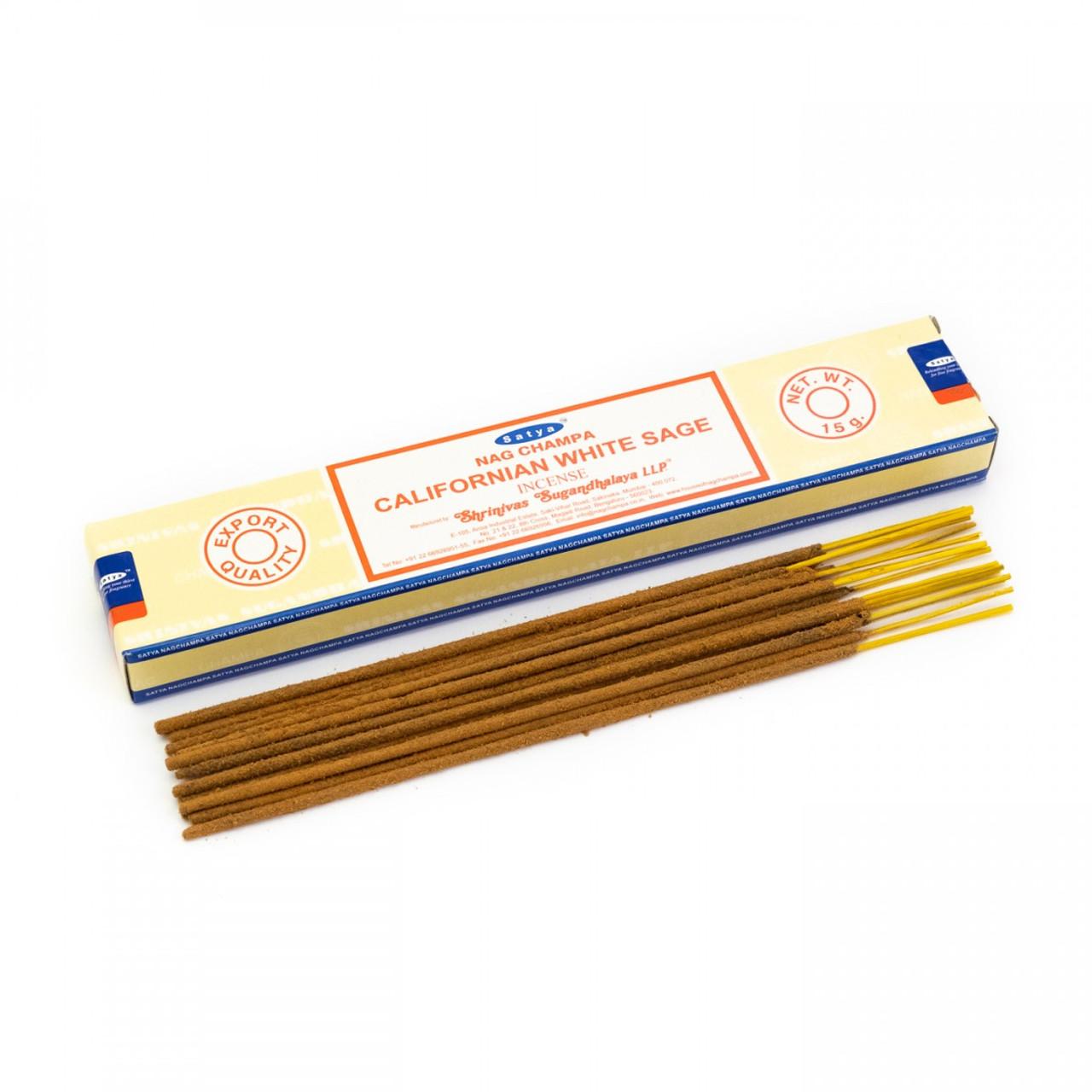 Californian White Sage Satya Incense