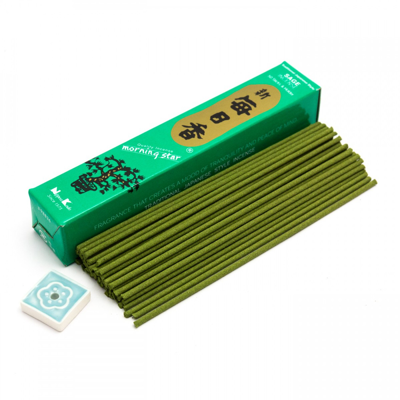 Morning Star Incense - Sage (50 Short Sticks)