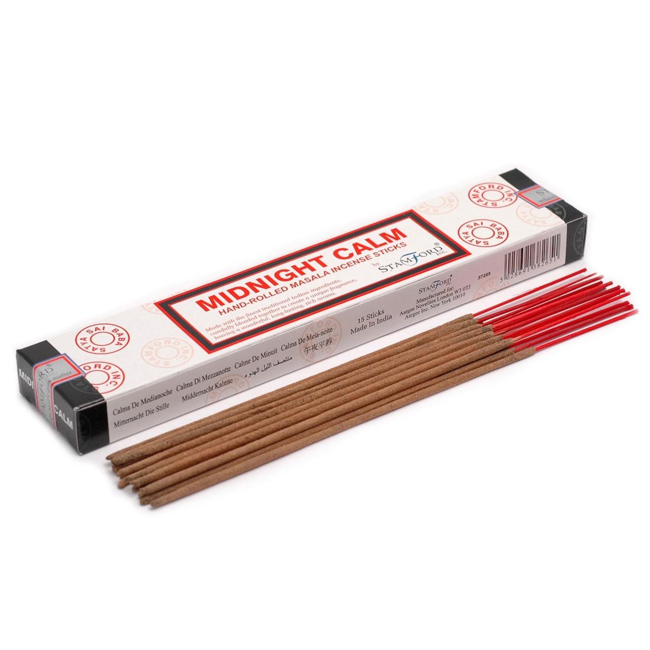 Midnight Calm Hand Rolled Masala Incense Sticks
