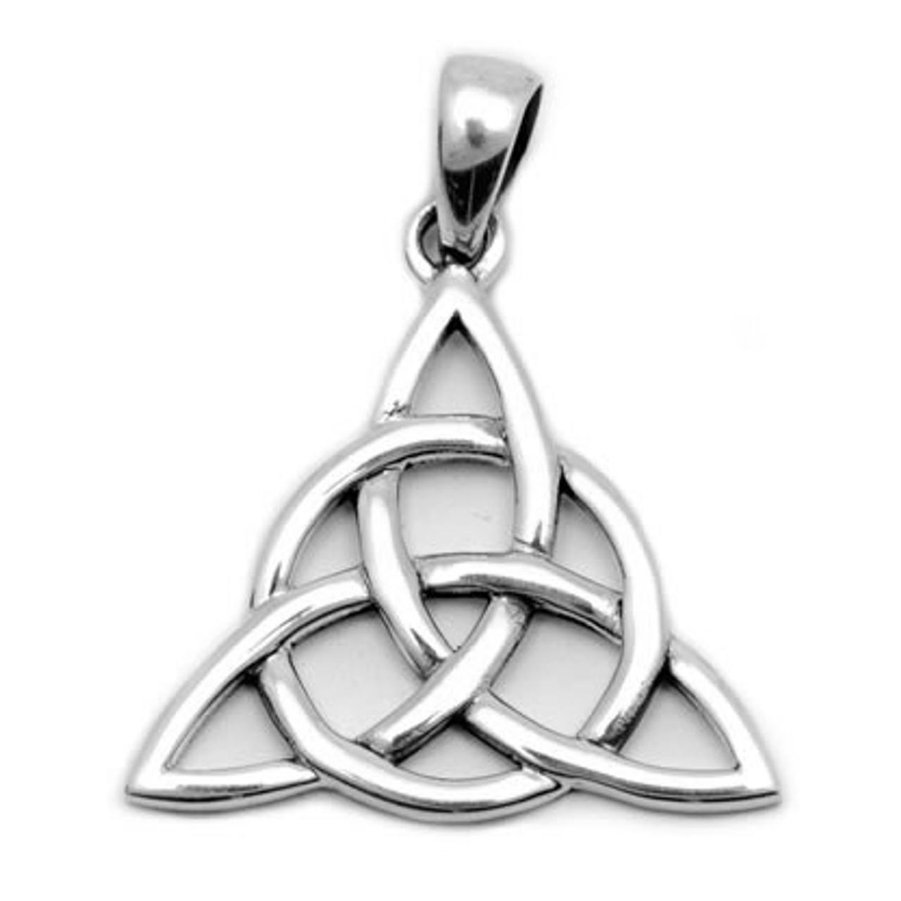 Triquetra Pendant (Sterling Silver)
