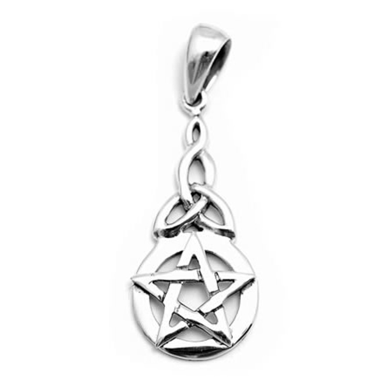 Small Celtic Pentacle (Sterling Silver)