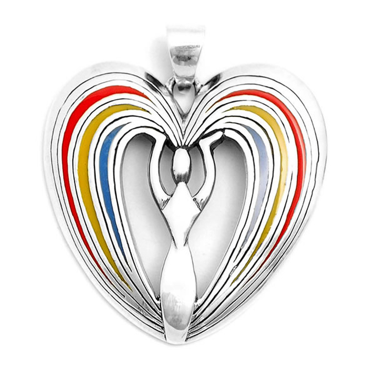I Manifest a Beautiful Life Pendant (Sterling Silver)