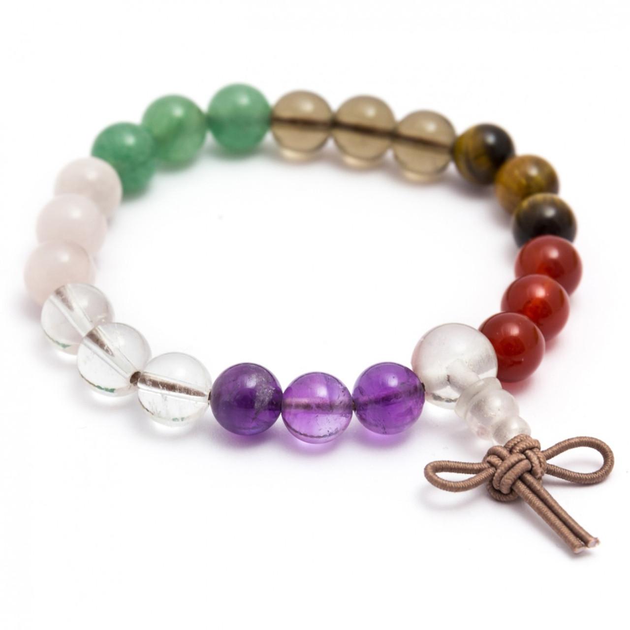 Mixed Crystal Power Bracelet
