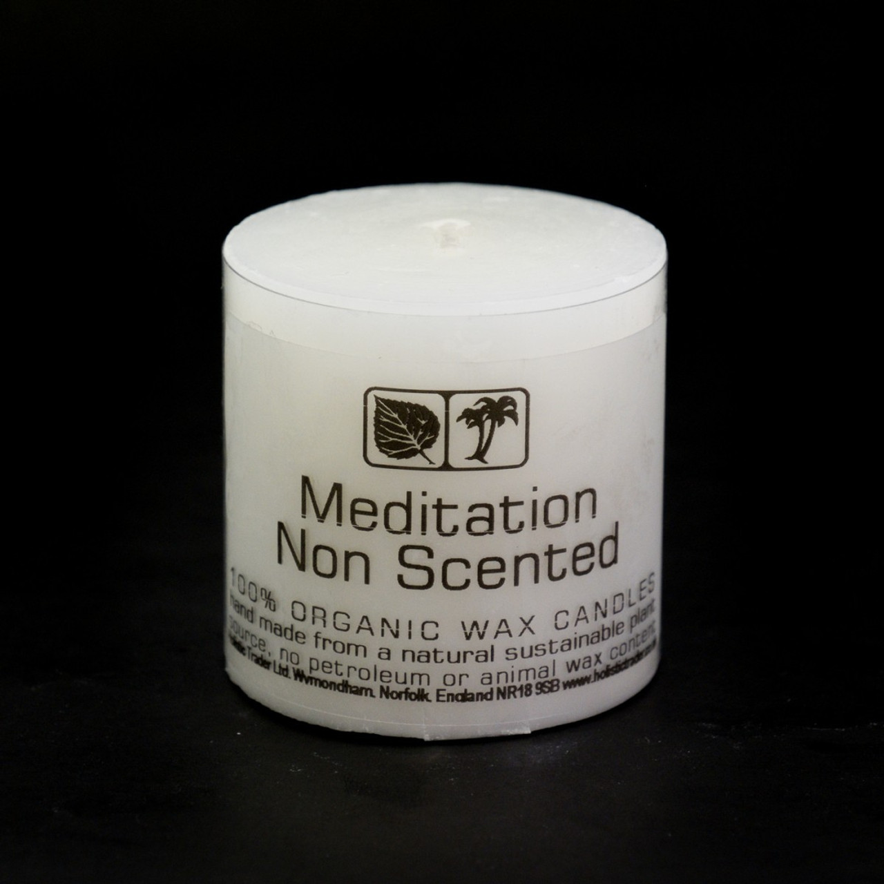 Small Non Scented Meditation Candle (5x5cm)