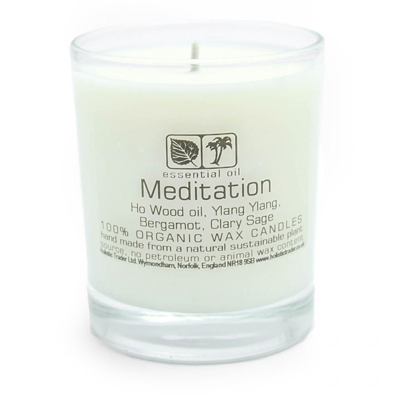 Meditation Aromatherapy Candle (Large, 40-50 Hours)
