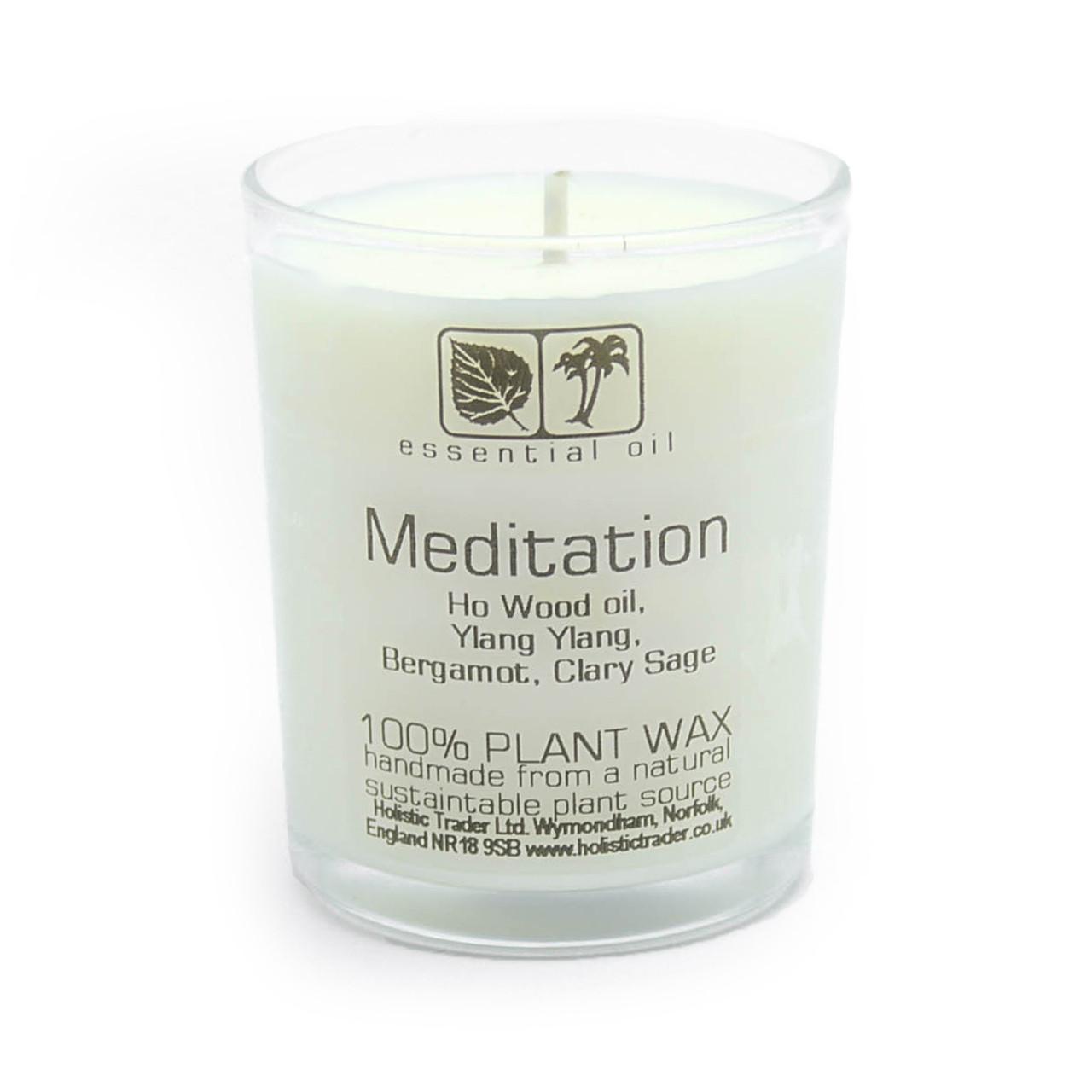 Meditation Aromatherapy Candle (25-30 Hours)