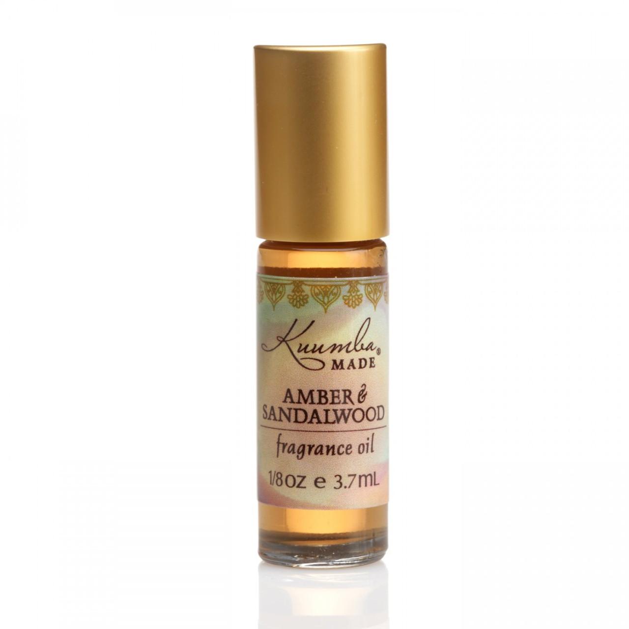 Kuumba Made Amber & Sandalwood Fragrance Oil