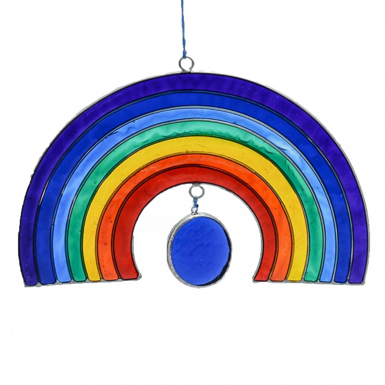 Half Rainbow Suncatcher Mobile