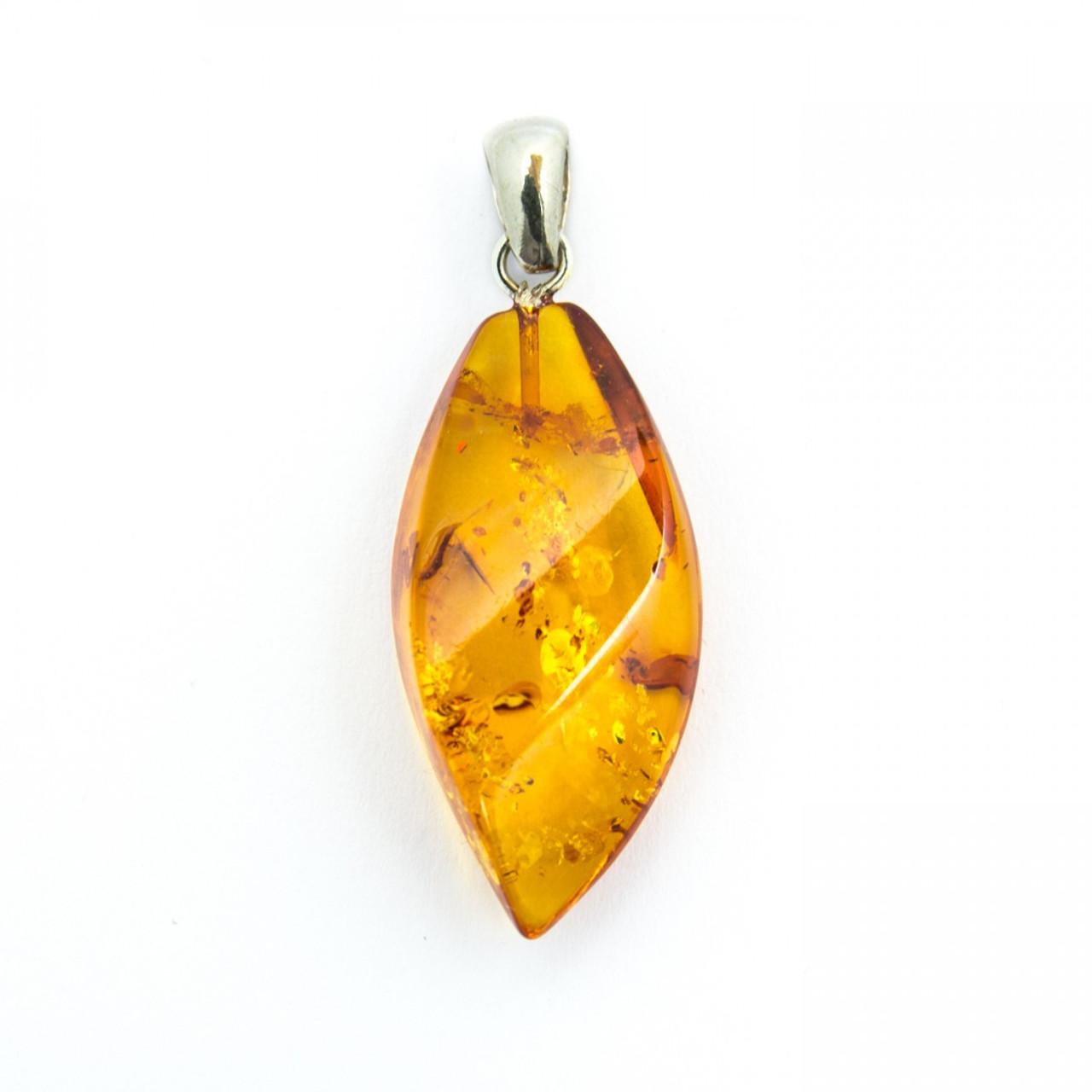 Baltic Amber Drop Pendant